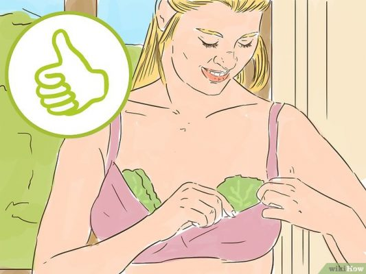 капустный лист помогает справиться с болью в груди