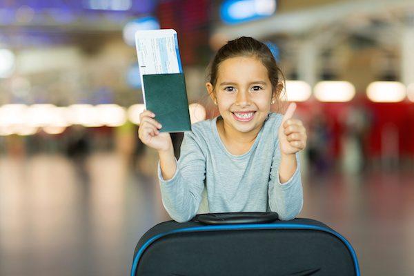 сопровождение детей при перелете