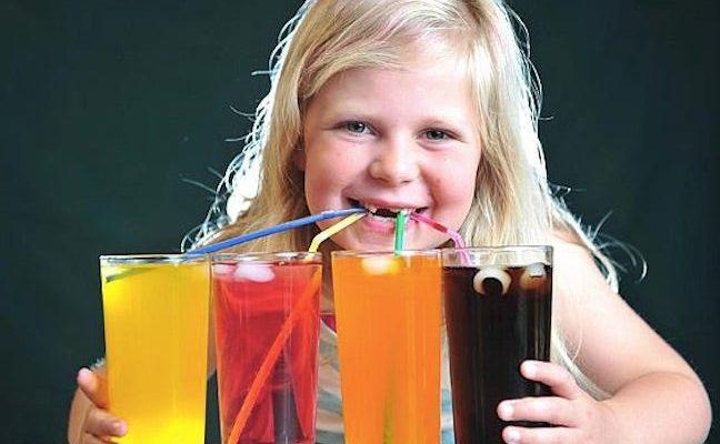 газированные напитки для детей
