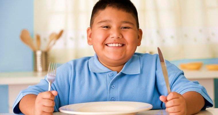 ожирение у ребенка