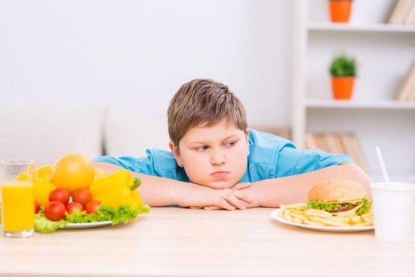 питание при ожирении у ребенка