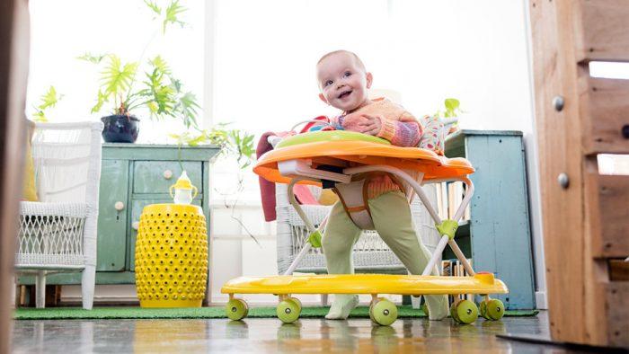 безопасные модели детских ходунков