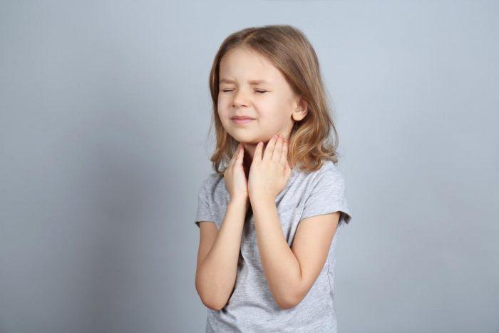 Увеличенные миндалины без температуры у ребенка