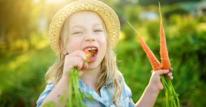 польза морковки для ребенка