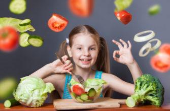 польза овощей для детей