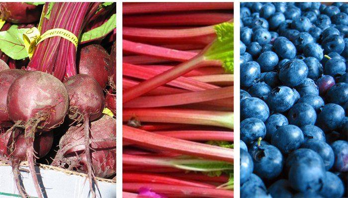 продукты могут окрасить мочу в розовый цвет
