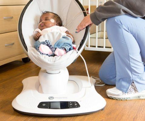 многофункциональный шезлонг для новорожденных