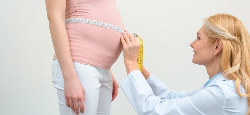 как растет живот при беременности