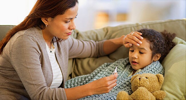 Как сбить температуру у ребенка без таблеток