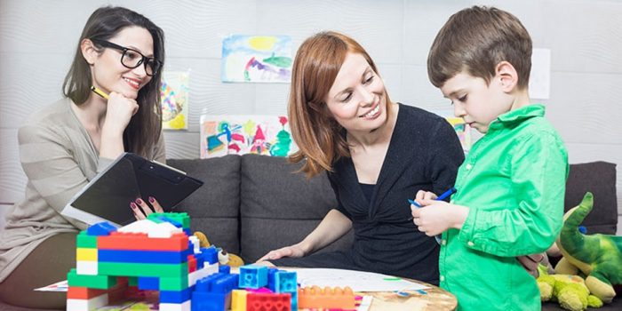 на приеме у детского психолога