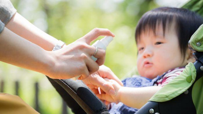 средства для защиты ребенка от укуса ос