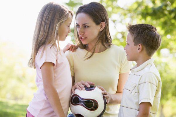 детские конфликты на детской площадке