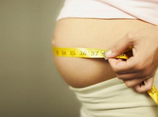 как измерять живот при беременности