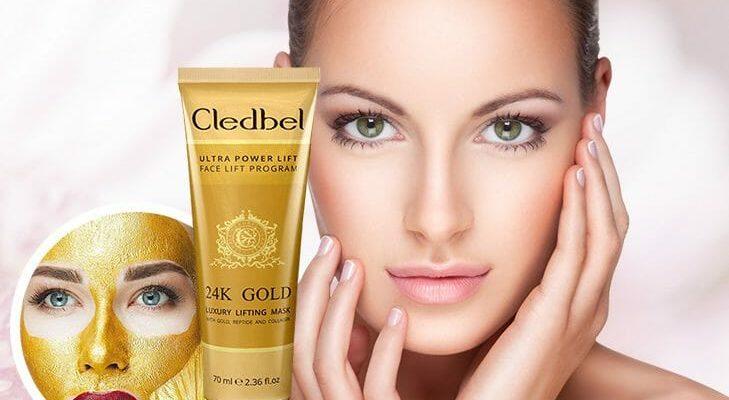 Cledbel 24K Gold-маска-пленка с лифтинг-эффектом