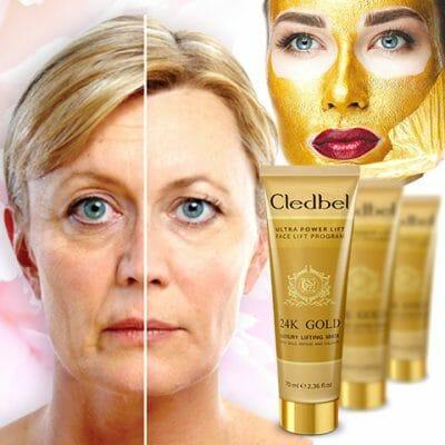 эффективность маски Cledbel 24K Gold