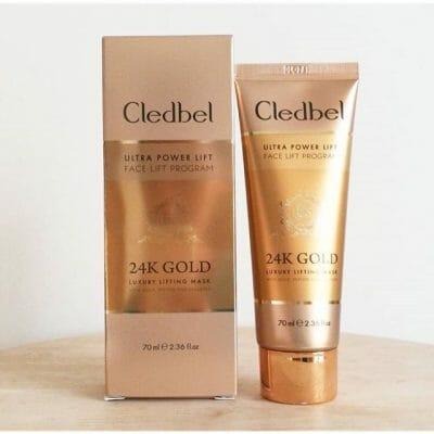 оригинальная маска с лифтинг-эффектом Cledbel 24K Gold