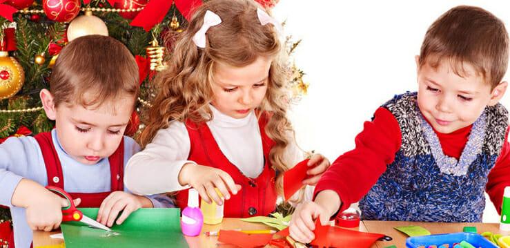 как сделать новогодние украшения с детьми