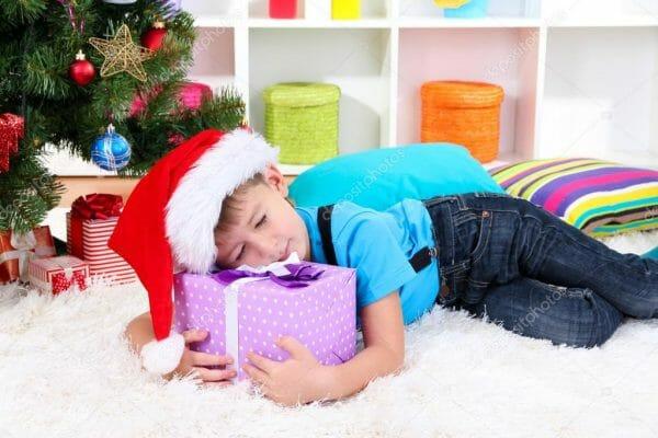 детский сон в новогоднюю ночь