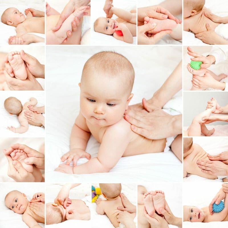 Как делать массаж маленьким детям