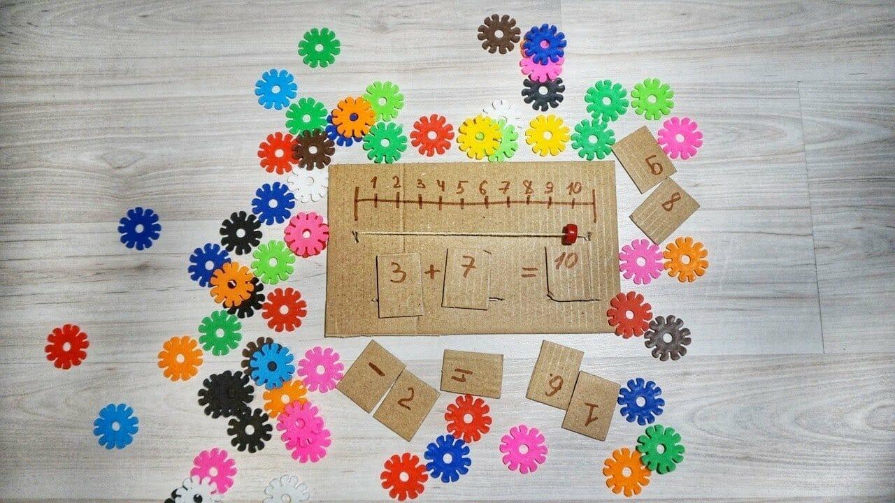 Математические игры для малышей